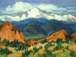 Pikes Peak Urban Gardens - 13 best pikes peak and garden of the gods paintings by colorado