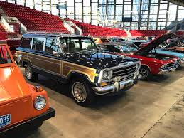 1960 jeep wagoneer 2017 nc international auto expo classics display my jeep and me