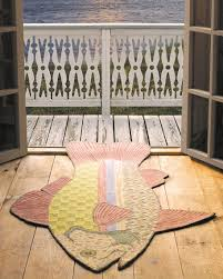 Fishing Rugs The 24 Best Images About Fish Rugs On Pinterest April Cornell