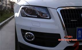 audi q5 cover stainless steel fog light chrome cover trim set for audi q5 2009