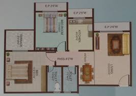 1 bhk 700 sq ft apartment for sale in happy home sarvodaya leela