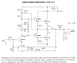 2n3055 mj2955 audio amplifier circuit electronic circuits using