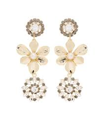 cheap clip on earrings erdem maxi dress cheap erdem embellished pearl clip on