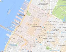map of new york city new york s chinatown and italy neighborhood map