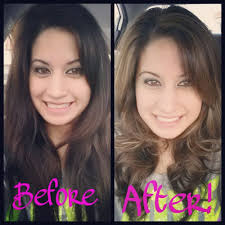 cut off 3 inches got highlights and they even gladly offered to