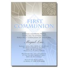 communion invitations boy pastel boy cross communion invitation communion