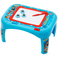 activity desk for paw patrol activity desk with scribbler the entertainer