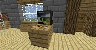 minecraft kitchen furniture tut how to make furniture living room kitchen bedroom and more