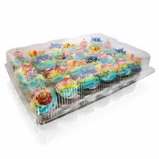 containers for cupcakes easyfashion 50 x plastic single