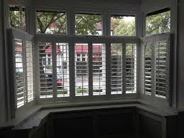 bay window blind decor window ideas