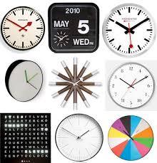 best wall clocks best wall clocks 2011 apartment therapy