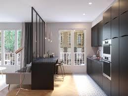 ouvrir sa cuisine comment ouvrir sa cuisine sur le salon les architectes avant
