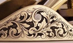 ornamental engraving