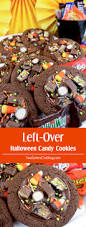 left over halloween candy cookies two sisters crafting