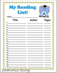 printable reading charts for kids 20 book challenge 40 book