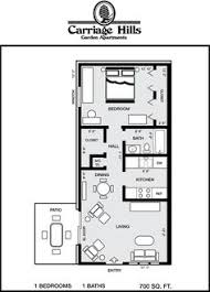 Small House Plans 700 Sq Ft 2d Floor Plan Image 1 For The 2 Bedroom Garden Floor Plan Of