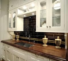 large glass tile backsplash u2013 classy kitchen backsplash ideas with black tiles and yellow accent