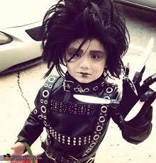 Edward Scissorhands Costume Edward Scissorhands Halloween Costume For A Boy