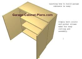 Learn To Build Cabinets How To Build Garage Cabinets Easy To Follow Plans