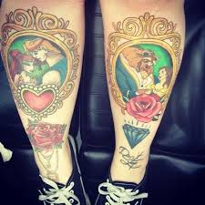 35 best disney princess couple tattoos images on pinterest bats