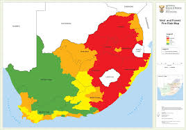 Free State Maps by Department Of Agriculture Forestry And Fisheries U003e Branches