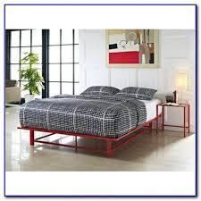 Metal Platform Bed Frames Metal Platform Bed Frame Queen Bedroom Home Design Ideas