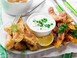 cuisine poisson bâtonnets de poisson et patates douces au four une recette