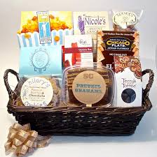 send gift basket chicago themed gift baskets for clients events family friends