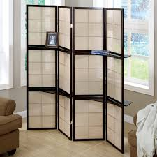 room dividers golden mirror 3 panel room divider hayneedle
