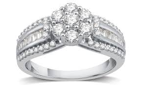 groupon wedding rings 78 on 1 cttw engagement ring groupon goods