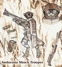 Mokoi Deviantart - anduruna shock trooper concept by dreamkeepers on deviantart