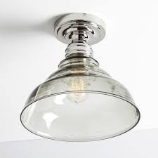 industrial flush mount ceiling lights industrial flush mount ceiling fixture with 8 wide bowl shape clear