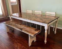 farm table with bench farmhouse table buying guide bestartisticinteriors com