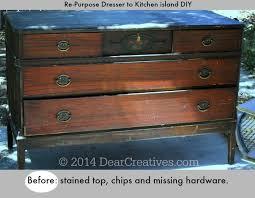 diy portable kitchen island dresser to kitchen island cart diy with chalkyfinish paint