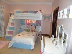 Heart Loft Bed With Single Top Bed Cubbies Desk Storage - Double top bunk bed