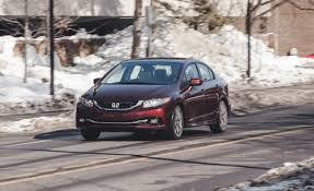 nissan civic 2014 2014 honda civic 1 8l cvt sedan test u2013 review u2013 car and driver