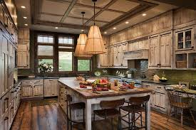 rustic kitchen ideas ascent your modern kitchen with rustic embellishment trends4us