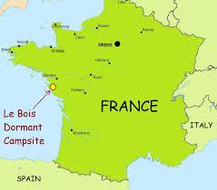 Le Havre France Map by Best French Campsites Siblu Le Bois Dormant Campsite