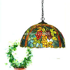 stained glass supplies l bases stained glass hanging light kitchen lights lustre style grape