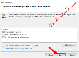 android adb driver how to install adb driver manually