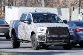 ranger ford 2019 2019 ford ranger fx4 steps out for the camera ahead of debut