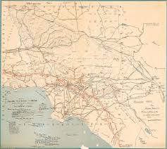 Map Of Los Angeles County by History Of L A To Anaheim Roads Myrons Mopeds
