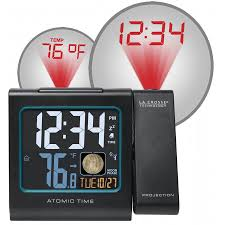 kentucky travel alarm clocks images 616 146a atomic projection alarm clock with indoor temp and moon phase jpg