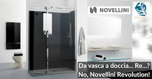 vasca e doccia combinate prezzi trasformazione da vasca in doccia con novellini revolution