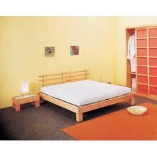 letto a legno massello letto in faggio massello in stile giapponese ad incastro futon
