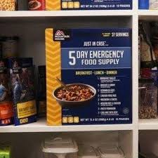 Mountain House Food by Mountain House Just In Case 5 Day Emergency Food Supply Kit Go