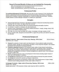 Production Engineer Resume Samples by 37 Engineering Resume Examples Free U0026 Premium Templates