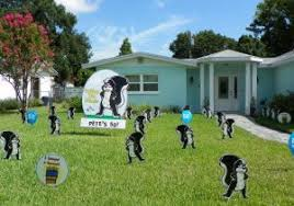 home lawn decoration lawn decoration for birthday party outdoor birthday party decoration