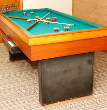vintage bumper pool table ebth