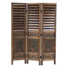rattan wood screens and room dividers bellacor